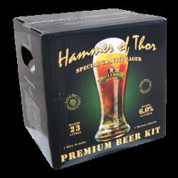 Bulldog Brews Hammer Of Thor Special Gravity Lager - 40 Pint Premium Beer Kit