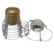 Champagne Cages / Wires - Suitable For Corks & Stoppers - 6