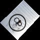 Valve & Cap Seal Set For Pressure Barrels With 4 Inch Caps