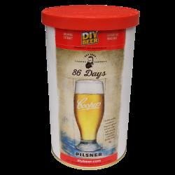 Coopers 86 Day Pilsner - 1.7kg - 40 Pint - Single Tin Beer Kit