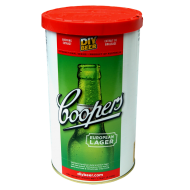 Coopers European Lager - 1.7kg - 40 Pint - Single Tin Beer Kit