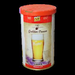 Coopers Golden Crown Lager - 1.7kg - 40 Pint - Single Tin Beer Kit