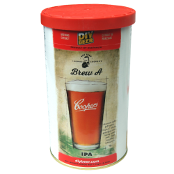 Coopers Brew A - American IPA - 1.7kg - 40 Pint - Single Tin Beer Kit