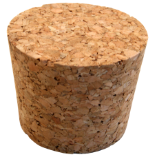 No. 2 Size Solid Cork Bung For Carboys & Fermenters