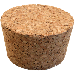 No. 3 Size Solid Cork Bung For Carboys & Fermenters