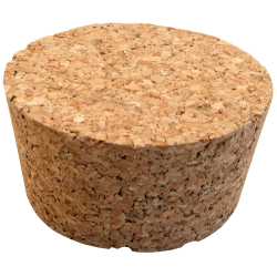 No. 5 Size Solid Cork Bung For Carboys & Fermenters