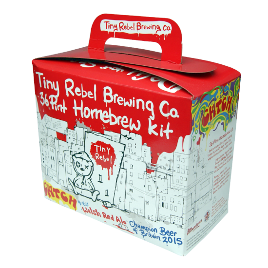 Tiny Rebel Cwtch - 3kg - 36 Pint - Welsh Red Ale Kit
