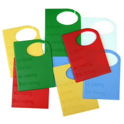Plastic Tags For Labeling Demijohns - Pack of 10