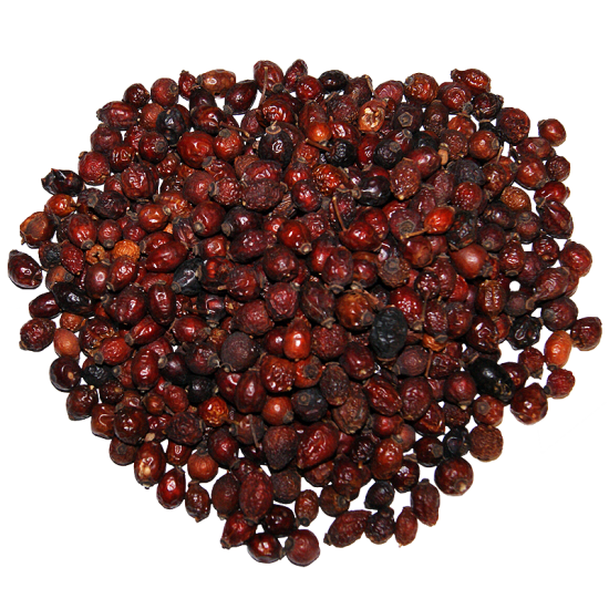 Dried Rosehips - 500g Bag