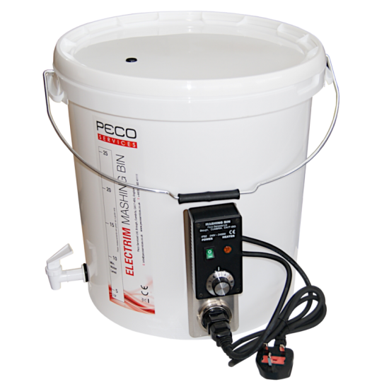 Electrim Mashing Bin - 32 Litre - Suitable For Mashing And Boiling