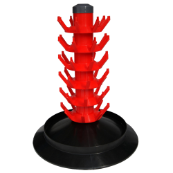Tree Style Bottle Drainer - For Up To 48 Beer Or Wine Bottles