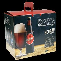 Festival World Beer Kit - Belgian Dubbel - 32 Pint - Rich, Dark, Fruity Ale