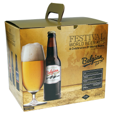 Festival World Beer Kit - Belgian Pale Ale - 40 Pint - Sweet, Spicy, Gold Ale