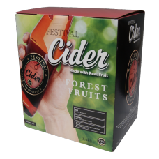 Festival Premium Cider Kit - Forest Fruits - 40 Pint - Apple and Berry Flavour