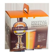 Festival Premium Ale Kit - Golden Stag Summer Ale - 40 Pint - Crisp, Refreshing Ale
