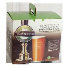 Festival Premium Ale Kit - Landlords Finest Bitter - 40 Pint - Classic Pale Session Ale