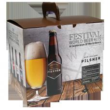 Festival World Beer Kit - New Zealand Pilsner - 40 Pint - Refreshing Golden Lager
