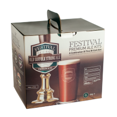 Festival Premium Ale Kit - Old Suffolk Strong - 40 Pint - Dark, Brown Ale
