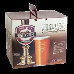Festival Premium Ale Kit - Pilgrims Hope - 40 Pint - Rich, Strong, Mahogany Ale