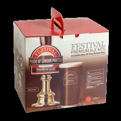 Festival Premium Ale Kit - Pride Of London Porter - 40 Pint - Rich, Smooth Dark Ale