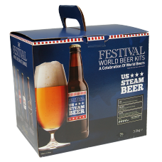 Festival World Beer Kit - U.S. Steam Beer - 40 Pint - Light Copper American Ale