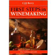 First Steps In Winemaking Book - C. J. J. Berry