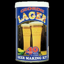 Geordie Lager - 1.5kg - 40 Pint - Single Tin Beer Kit