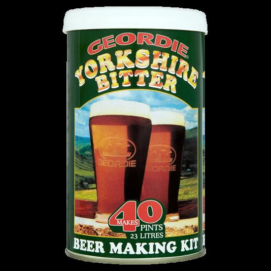 Geordie Yorkshire Bitter - 1.5kg - 40 Pint - Single Tin Beer Kit
