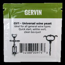 Gervin - GV1 - Universal Wine Yeast - 5g Sachet
