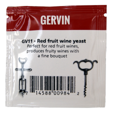 Gervin - GV11 - Red Wine Yeast - 5g Sachet
