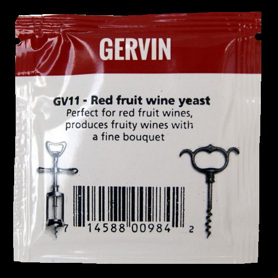 Gervin - GV11 - Red Wine Yeast - 5g Sachet