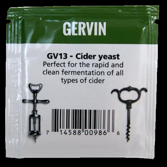 Gervin - GV13 - Cider Yeast - 5g Sachet