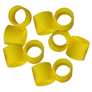Hambleton Bard Safety Release Valve Spare Rubbers - Yellow - x 10