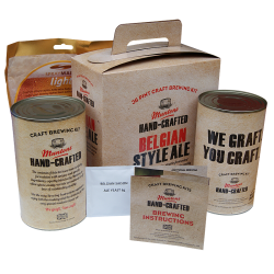 Muntons Hand Crafted Belgian Style Ale - 40 Pint Kit - With Saison Yeast