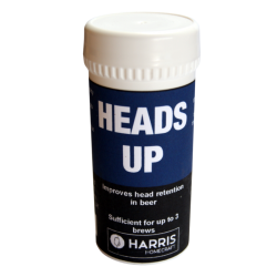Harris Heads Up - Improves Head Retention In Beer