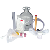 6 Bottle Country Wine Making Kit With Glass Demijohn