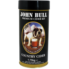 John Bull Country Cider - 1.75kg - 40 Pint Single Tin Kit