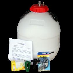 King Keg Bottom Tap Barrel, Balliihoo Cap, Pressure Indicator, Bulbs & Holder