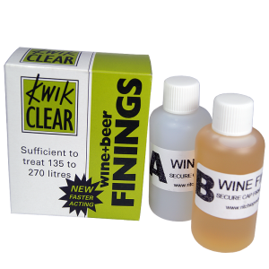 Finings - Kwik Clear Wine & Beer (Treats Up To 270 Litres)