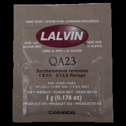 Lalvin - White Wine Yeast - QA23 - 5g Sachet