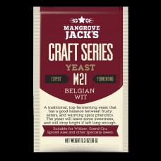 Mangrove Jacks - M21 Belgian Wit Yeast - 10g Sachet