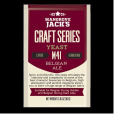 Mangrove Jacks - M41 Belgian Ale Yeast - 10g Sachet