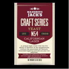 Mangrove Jacks - M54 Californian Lager Yeast - 10g Sachet
