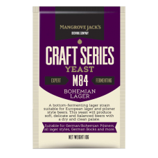 Mangrove Jacks - M84 Bohemian Lager Yeast - 10g Sachet