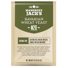 Mangrove Jacks - M20 Bavarian Wheat Yeast - 10g Sachet