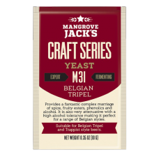 Mangrove Jacks - M31 Belgian Tripel Yeast - 10g Sachet