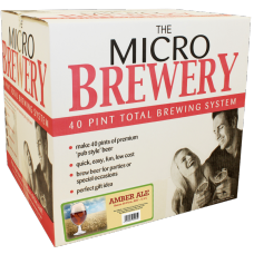 Youngs Micro Brewery - American Amber Ale - Starter Kit & Barrel