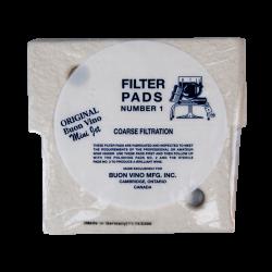 Buon Vino Mini Jet Coarse Filter Pads No1 - Pack Of 3