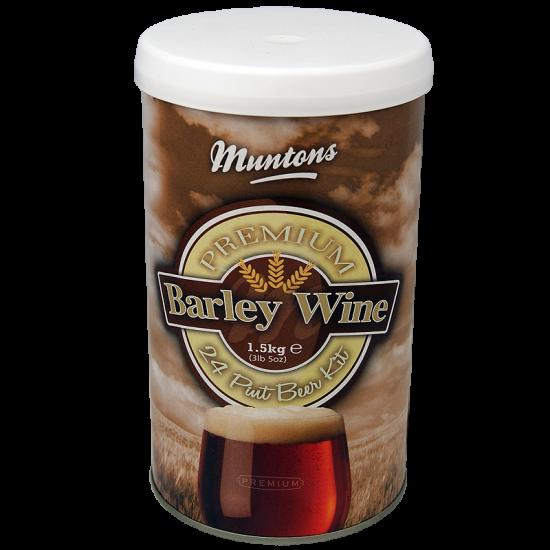 Muntons Barley Wine - 1.5kg - 24 Pint - Single Tin Strong Ale Kit
