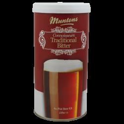 Muntons Connoisseurs Traditional Bitter - 1.8kg - 40 Pint - Single Tin Beer Kit